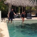 Aqua Sling At the Palm House